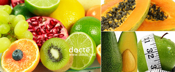 Citrus Fruit, Papaya, Apple, Avocado