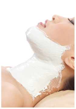 Neck Cold Mask Treatment